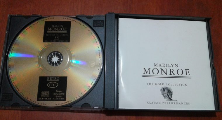MARILYN MONROE THE GOLD COLLECTION CLASSIC PERFORMANCE