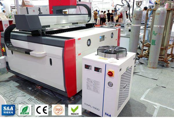 Enfriador de agua por láser enfriado por aire para equipos de corte por láser de fibra de 1KW